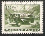 Stamps Hungary -  Mobile Post Office