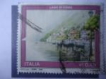 Stamps Italy -  Lago Di Como-Lombardía.