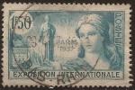 Sellos de Europa - Francia -  Exposition Internationale Paris  1937  1,50 ff