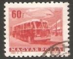Sellos de Europa - Hungría -  Bus