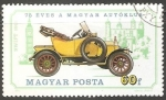 Stamps Hungary -  Swift, 1911