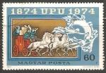 Sellos de Europa - Hungría -  Coche de correo