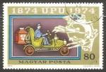 Sellos de Europa - Hungría -  Viejo coche de correo