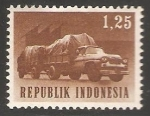 Stamps Indonesia -  Transport
