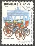 Sellos de America - Nicaragua -  Daimler-1886