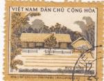 Stamps Vietnam -  CASAS TIPICAS