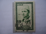 Stamps : Africa : Morocco :  S.M. Mchamed.V