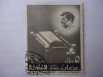 de Asia - Emiratos Árabes Unidos -  50th Anniversary of Jhon F. Kennedy Birthday.