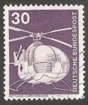 de Europa - Alemania -  Helicoptero de rescate MBB