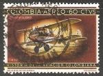 Sellos del Mundo : America : Haití : Historia de la aviacion colombiana