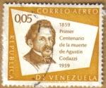 Stamps Venezuela -  Agustin Codazzi