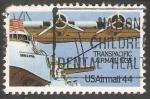 Sellos de America - Estados Unidos -  Transpacific airmail 1935
