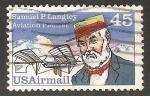 Sellos del Mundo : Europa : Estonia : Samuel P. Langley