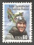 Sellos de America - Estados Unidos -  Eddie Rickenbacken