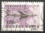 Stamps Hungary -  DC 8