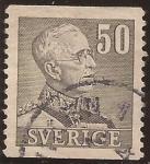 Sellos del Mundo : Europa : Suecia : Gustaf V  1939  50 öre