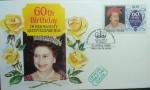 Sellos del Mundo : Europa : Reino_Unido : 60th Birthday of Queen Elizabeth 2