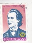Stamps Romania -  MIHAI EMINESCU- poeta
