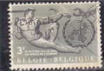 Sellos del Mundo : Europa : Bélgica :  NACIONES UNIDAS