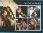 Sellos del Mundo : Europa : Reino_Unido : David Bowie - HB
