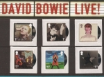 Stamps Europe - United Kingdom -  David Bowie Live
