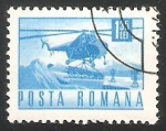 Sellos del Mundo : Europa : Rumania : Helicoptero de transporte
