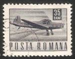 Sellos del Mundo : Europa : Rumania : Avion de correo