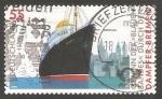 Sellos de Europa - Alemania -  Barco de pasajeros Bremen