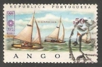 Sellos del Mundo : Africa : Angola : Veleros