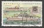 Sellos de Africa - Angola -  Barcos