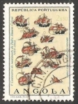 Sellos de Africa - Angola -  Veleros