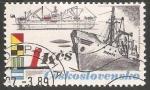 Stamps Czechoslovakia -  Barco carguero