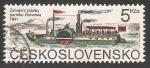 Sellos de Europa - Checoslovaquia -  Barco de pasajeros