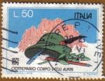 Stamps Italy -  Centenario Cuerpo Alpino