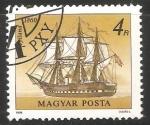 Stamps Hungary -  Jylland