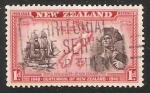 Stamps New Zealand -  Endeavour