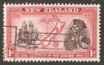 Stamps Oceania - New Zealand -  Endeavour