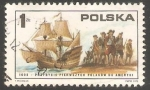Stamps Europe - Poland -  First Poles Arriving on