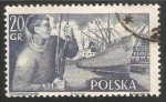 Sellos de Europa - Polonia -  Trabajar portuario