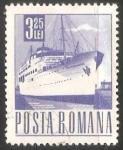 Sellos de Europa - Rumania -  Barco de pasageros Transylvania