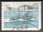 Sellos del Mundo : Asia : Turquía : Navio escuela