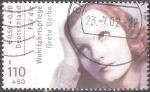 Sellos del Mundo : Europa : Alemania : Para el bienestar. Actores,Greta Garbo.