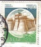 Stamps Italy -  Roca de Urbisaglia