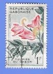 Stamps Africa - Gabon -  TULIPIER DU GABON