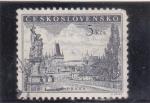 Sellos del Mundo : Europa : Checoslovaquia : PANORÁMICA DE PRAGA