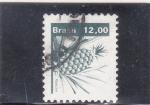 Sellos de America - Brasil -  P I Ñ A - abacaxi