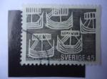 sellos de Europa - Suecia -  Danmark Island Norge - Soumi  Filand