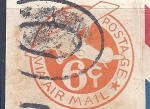 Sellos del Mundo : America : Estados_Unidos : Via air mail