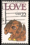 Sellos de America - Estados Unidos -  Love - Puppy