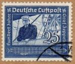 Stamps Germany -  GRAF ZEPPELIN